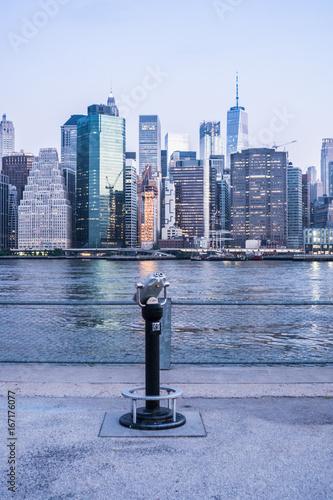 New York City Sunrise Poster