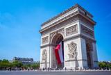 Fototapeta Fototapety Paryż - Arc de Triomphe, Paris