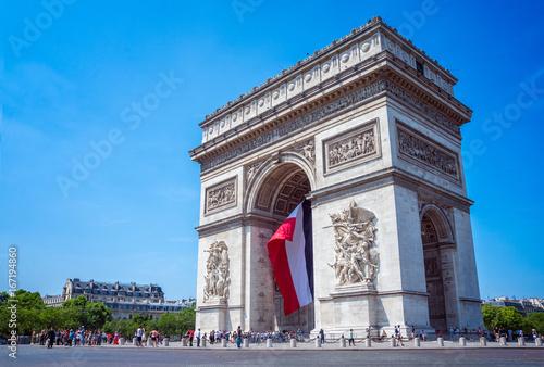 Valokuva  Arc de Triomphe, Paris