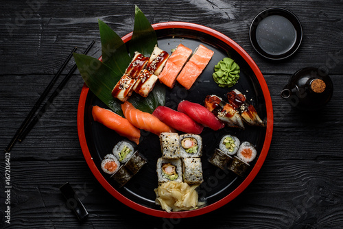 Japanese cuisine Canvas Print