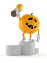 Halloween Pumpkin Character Ho...