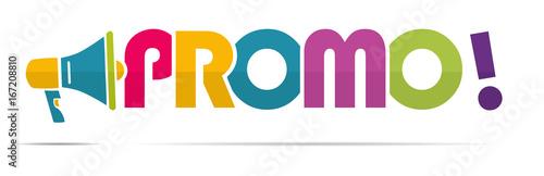Fotomural mégaphone mot : promo !