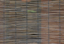 Bamboo Blind.