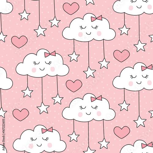 bezszwowe-usmiechajacy-sie-spiace-chmury-z-gwiazdami-wzor-ilustracji-wektorowych