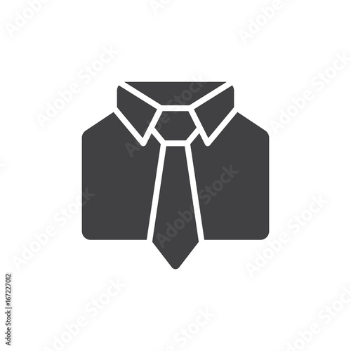 Fotografía  Uniform icon vector, filled flat sign, solid pictogram isolated on white