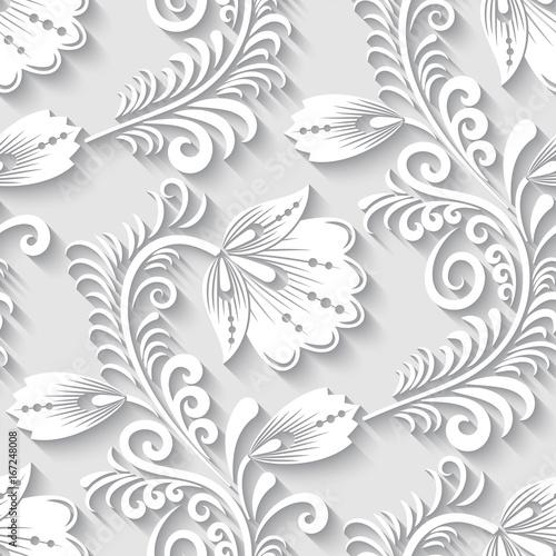 elegancki-3d-kwiecisty-wzor-desen