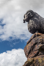 Statue Of A Ram In The Scottis...
