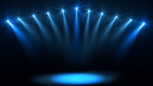 Stage Lights. Several Projecto...