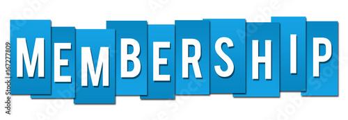 Fotografía  Membership Blue Stripes