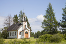 Old Abandoned Church In Northe...