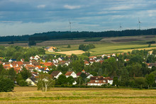 View Of The Small Town Of Neus...