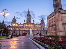 City Chambers In George Square...