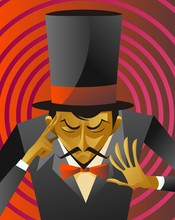 Magician Hypnotize Reading Min...