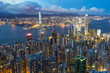 Hong Kong CityScape at Victoria Peak