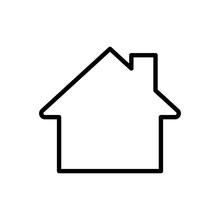 Premium Home Icon Or Logo In Line Style