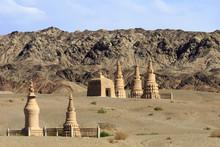 Pagoda, Mogao Caves, Dunhuang ...