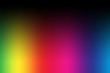 canvas print picture - Rainbow colors abstract background.