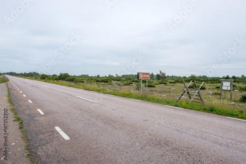 Fotografie, Obraz  Stora Alvaret or The Great Alvar, a UNESCO World Heritage site consisting of a l