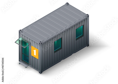 Photo Modular home for staff or workers from the container