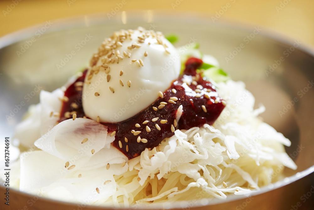 Fototapeta korean noodle