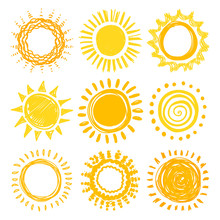Doodle Sun Collection For Summ...