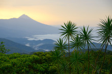 Arenal Volcano At Sunset