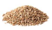 Pile Of Rye Grains