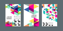 Geometric Trendy Illustration Background, Placard, Memphis Geometric Style Flat And 3d Design Elements. Retro Art For Covers, Banners, Flyers And Posters.
