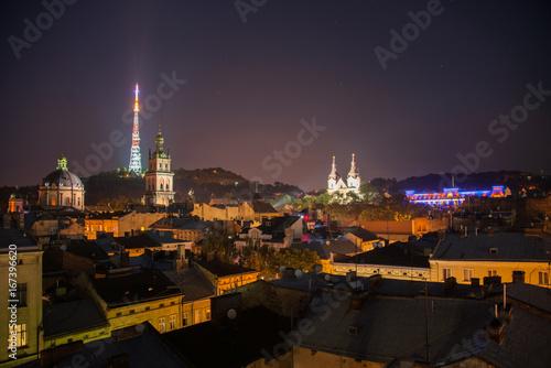 Lviv, Ukraine Billede på lærred