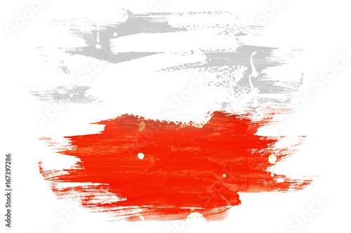 Plakat Flaga Polski