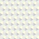 Grey triangle, pattern. Seamless vector design. Abstract background - 167399811