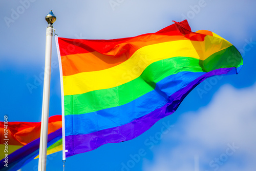 Fotomural  Rainbow Flag