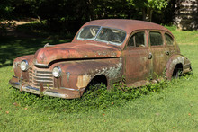 Rusty Oldtimer Car