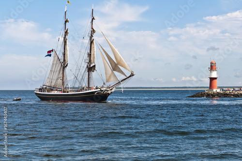 Urlaub an der Ostsee in Warnemünde  © Stockfotos-MG
