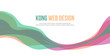 Header website abstract colorful design
