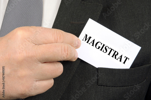 Le magistrat Fototapeta