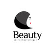 Beauty salon vector logo template