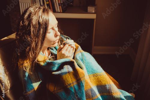Fotografía  Winter cold concept