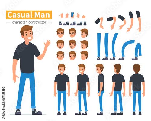man character Fototapet