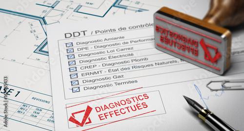 DDT, Dossier de Diagnostique Technique Immobilier Obligatoire Pour La Vente d'Une Habitation