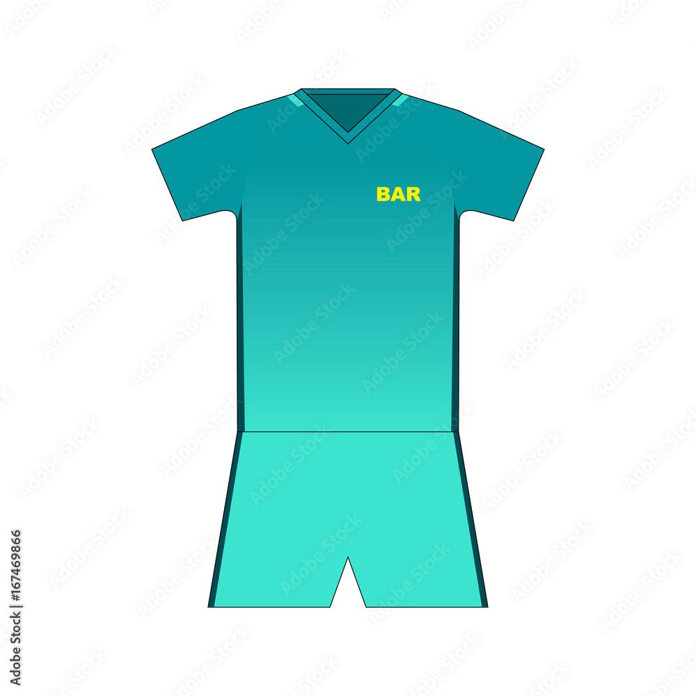Football kit. Barcelona