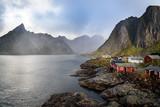 Norwegian Fishing village, Hamnoy island, Reine, Lofoten, Northern Norway - 167473242