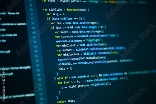 Cuadros en Lienzo Software computer programming code