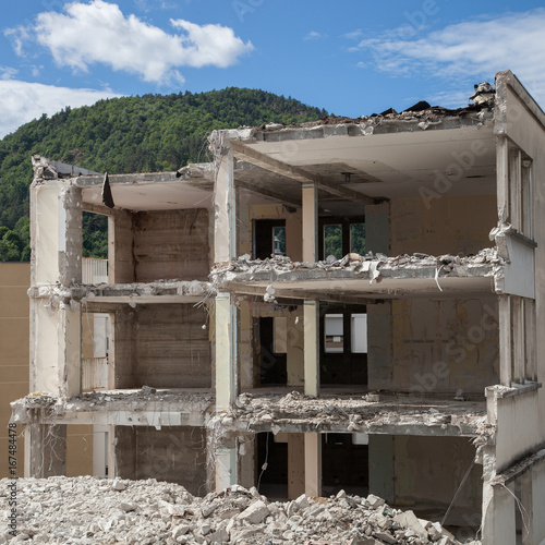 Fototapety, obrazy: Squelette de l'hôpital