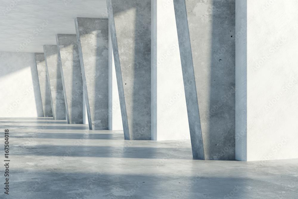 Fototapeta Concrete interior