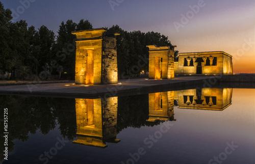 Photo Madrid,templo egipcio