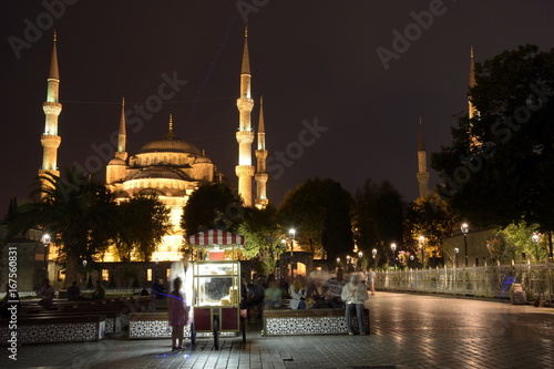 Photo  Old city tourist attractions, Fatih, Istanbul, Turkey