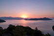 Sunrise over bay in Turkey