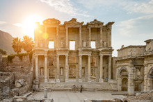 Celsus Library In Ephesus And ...
