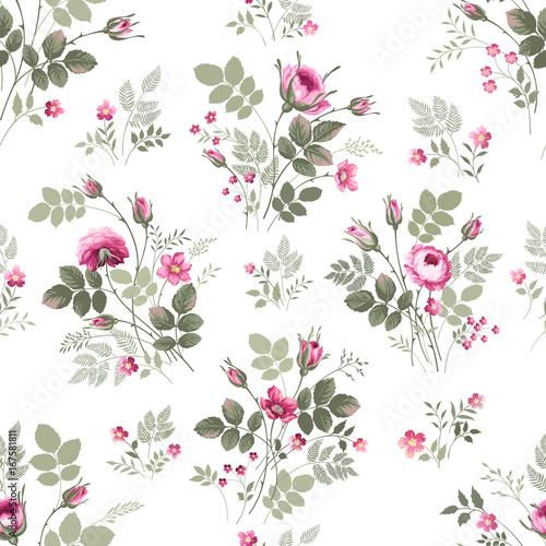 bez-szwu-kwiatowy-wzor-vith-bukiet-roz-na-bialym-tle